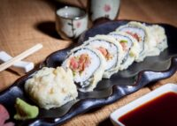 SPICY TUNA TEMPURA MAKI
