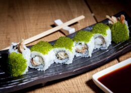 SOFT SHELL CRAB TEMPURA MAKI