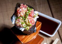 SPICY TUNA TEMAKI